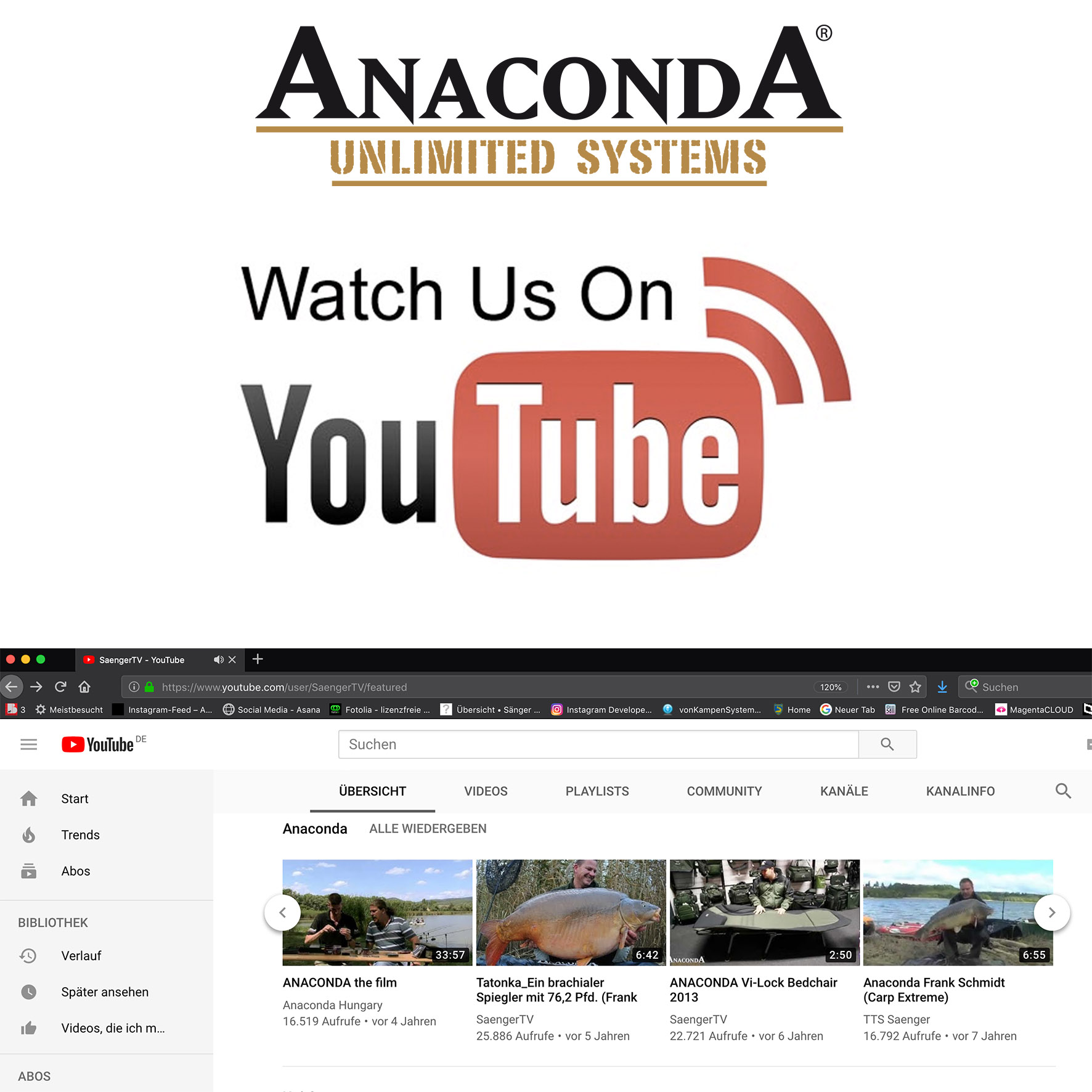 youtube Anaconda